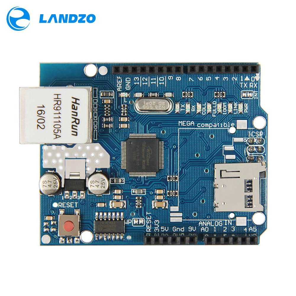 Ethernet shield W5100 для Arduino Uno