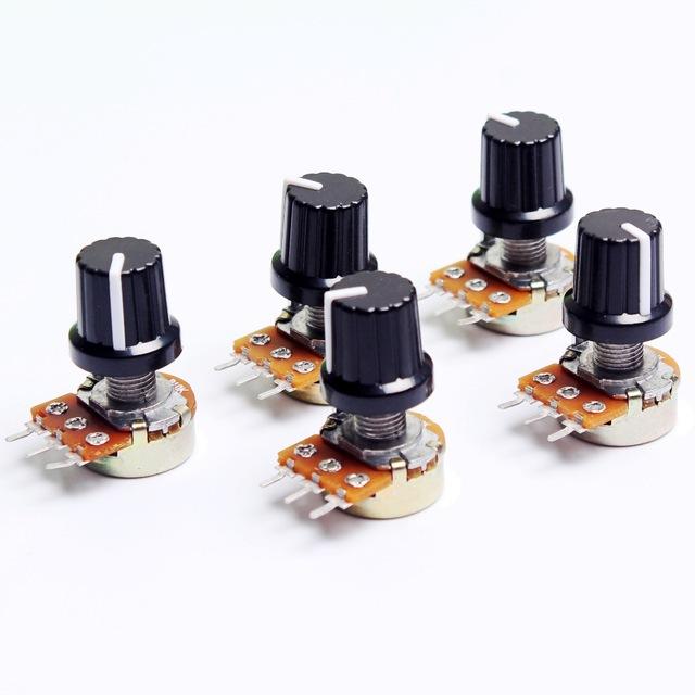 Потенциометры для Arduino