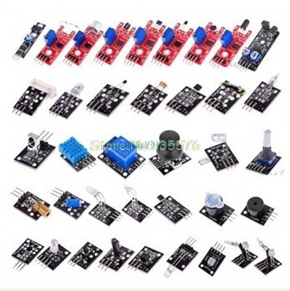 Набор из 45 датчиков и сенсоров для Arduino