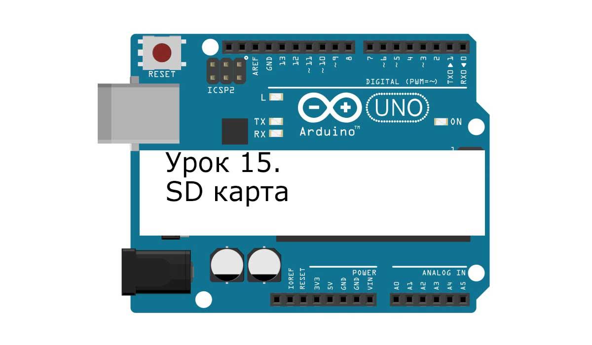 Arduino. Урок 15. SD карта.