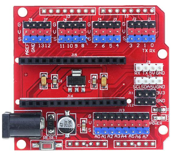 Shield расширения Arduino Nano