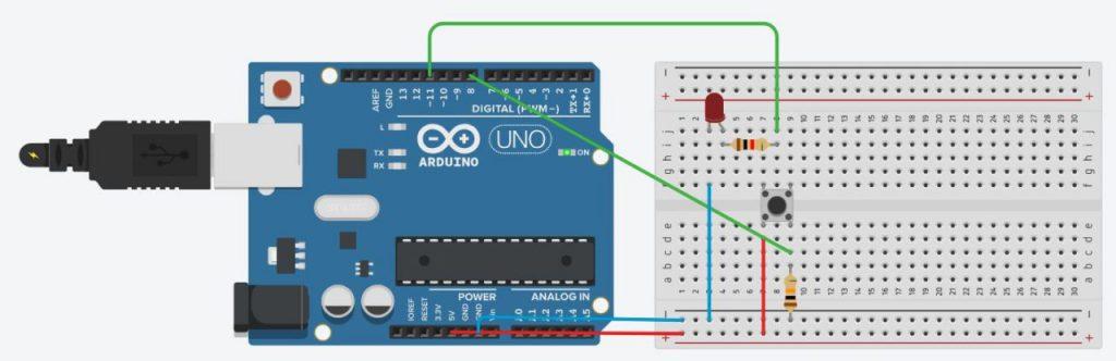 Подключение светодиода к Arduino