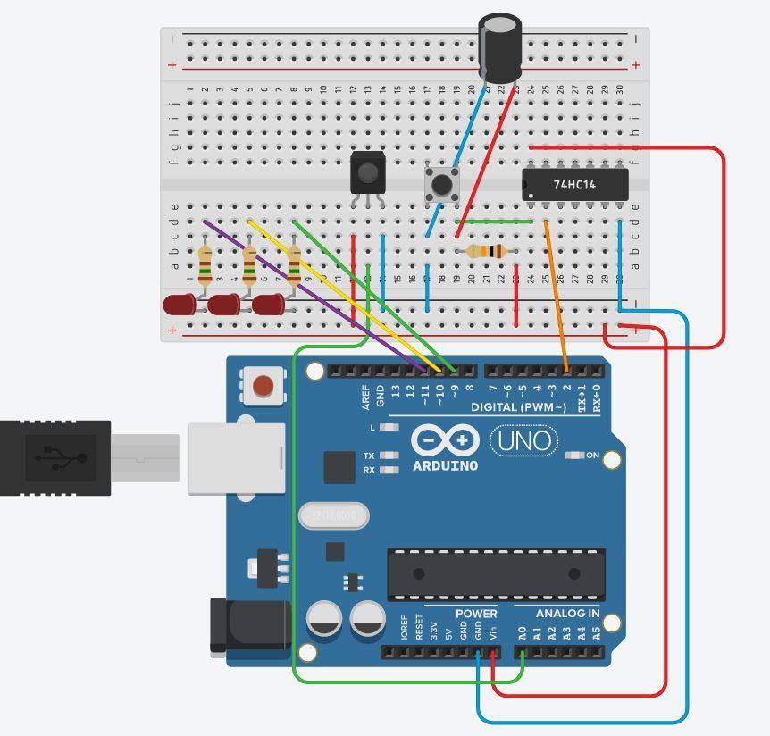 Использование прерываний Arduino