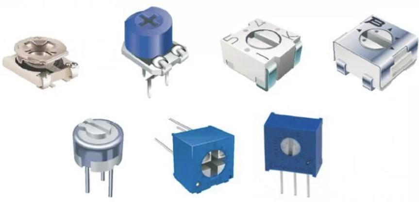 Подстроечные резисторы в разных исполнениях